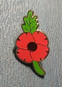 2020 Us Veteran Day Red Poppy Remembrance Flower World War Pin