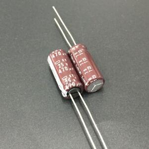 10pcs 330uf 25v Radial Electrolytic Capacitor 25v330uf NCC KY Japan/'s capacitors