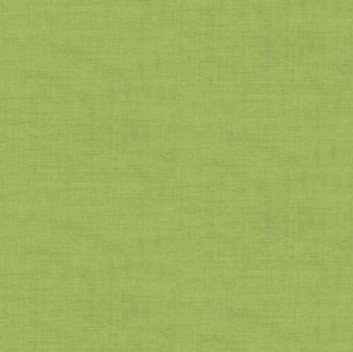 Multiple Sizes Linen Texture Look 100/% Cotton Makower Fabric Sage Green