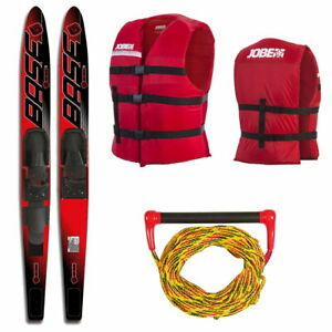BASE-SPORTS-Vapor-Package-67-034-red-Wasserski-Wasserlaeufer-Paarski-Ski-Wassersport