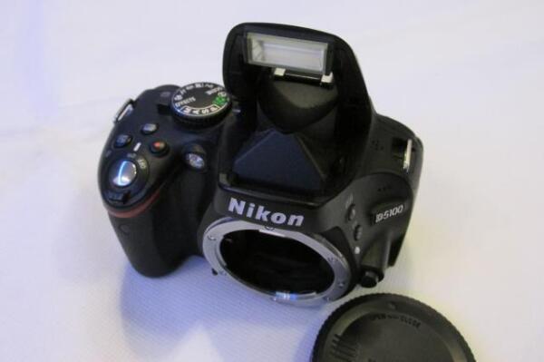 Aimable Nikon D D5100 16.2mp Digital-slr Dslr Caméra (full Caméscope) - Corps Seulement