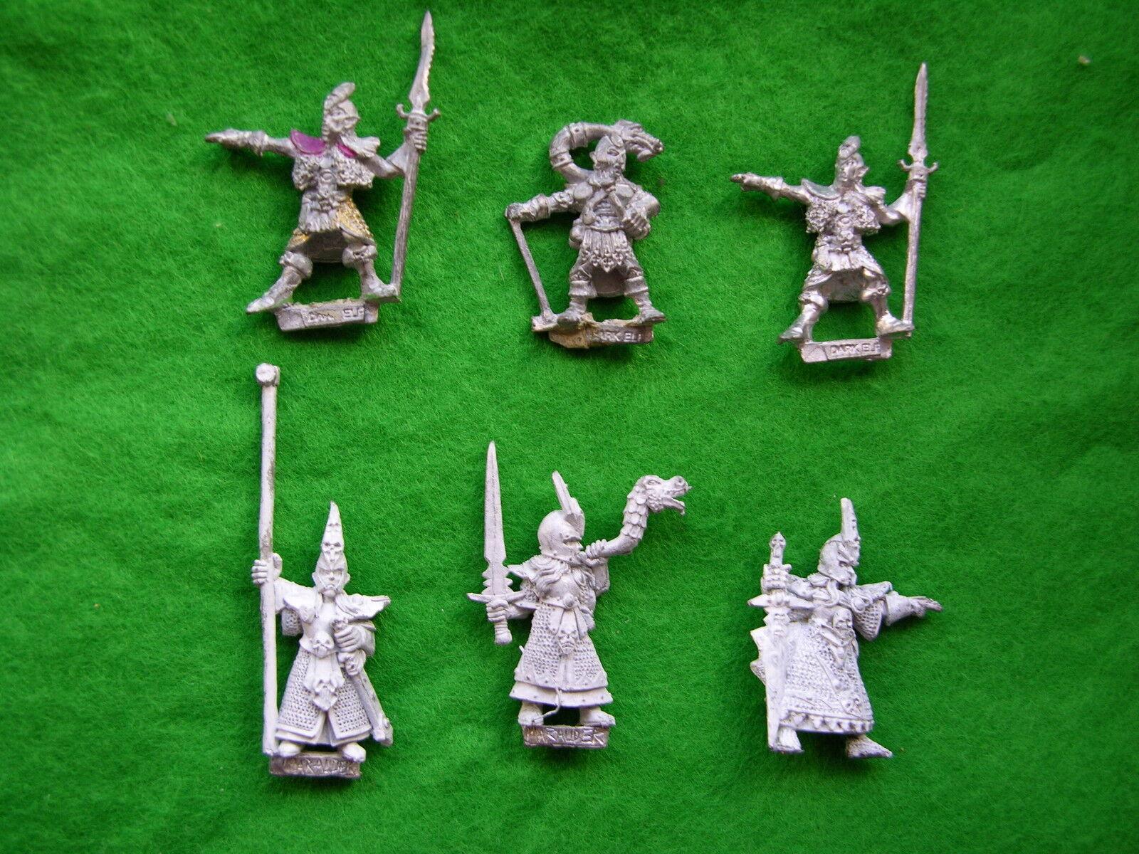 Warhammer Elf black, Command Individus, Multi-Annonce