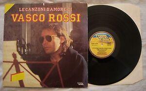 VASCO ROSSI - LE CANZONI D'AMORE - ANNO 1985 - TARGA ORL 8875 - MINT - Italia - VASCO ROSSI - LE CANZONI D'AMORE - ANNO 1985 - TARGA ORL 8875 - MINT - Italia