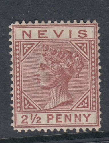 Nevis 1879 2 12d RedBrown SG24 very lightly mounted mint