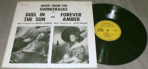 HOLLYWOOD CINEMA ORCHESTRA Duel In The Sun / Forever Amber OST LP8007 Vinyl LP