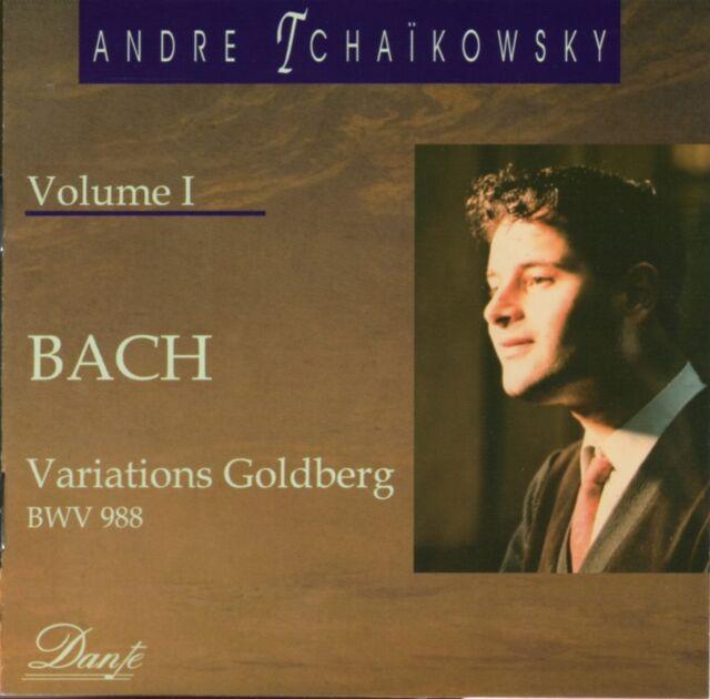 "CD DANTE HPC022 Bach ""Variations Goldberg BWV 988"" André Tchaïkowsky (Volume I)"