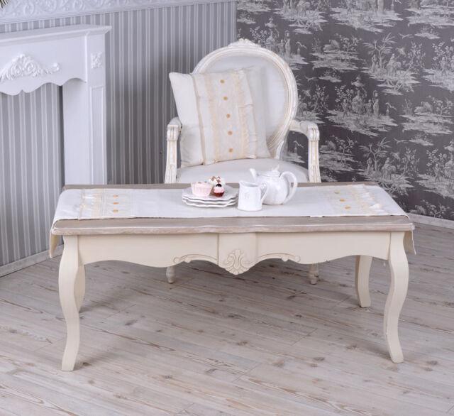 Wohnzimmertisch Vintage Retro Couchtisch Landhausstil Tisch Ebay