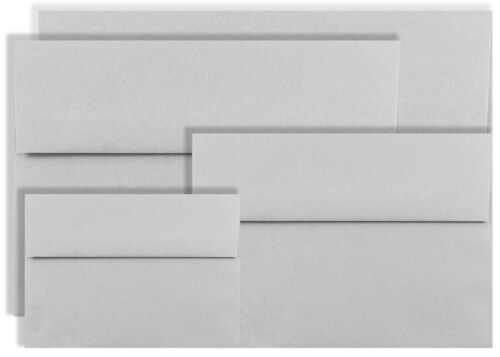 100 A6 Gray Pastel Envelopes for 4x6 Greet Cards Invitation Announcement Shower