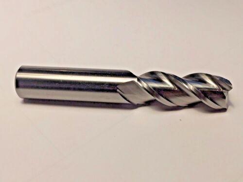 "1//2/"" x 1-1//4/"" Cut AlumaCut 3 Flute Square Carbide End Mill for Aluminum USA F19"