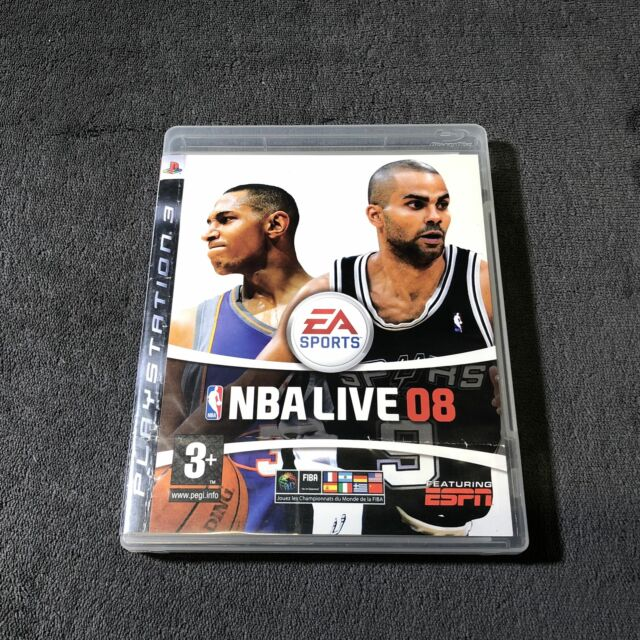 PS3 NBA Live 08 FRA Bon état