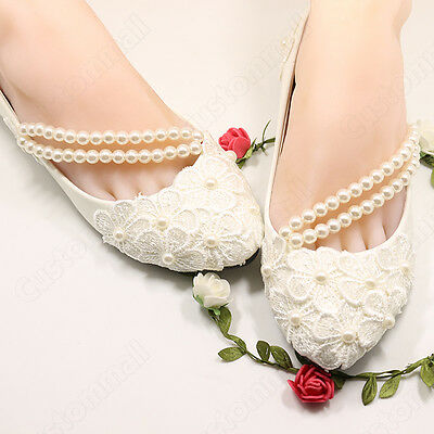 wedding lace flower prom party dance bridal bridesmaid