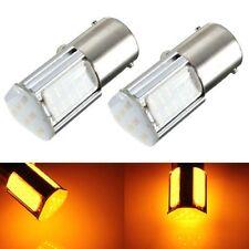 Lamp Turn Signal Bulb 1156 G18 Ba15s 4 COB LED Car Rear Light Yellow DC 12V