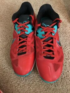 wholesale dealer 09a58 f14ba Image is loading Nike-Air-Max-Lebron-9-l-X-Low-Liverpool-