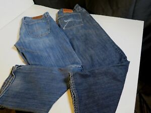 Zipper 2 Straight Fit Uomo 32 Fly 30 Pairs Jeans Vintage 361 Inseam Short Lucky gXwgzxrq