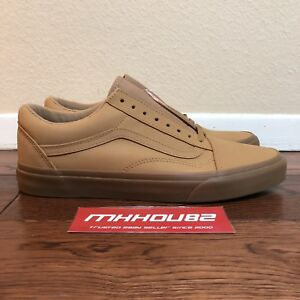 07d0c8cc3ad New Vans Vansbuck Old Skool Light Gum Mono Pack Shoes Size 11