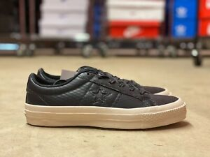 Converse One Star Leather Black/White