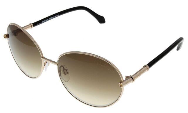 exquisite style 100% genuine official Roberto Cavalli Sunglasses Women Angetenar Gold Black Round Rc832s 28f