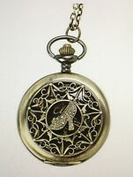 Disney Live Action Cinderella Ht Exclusive Collection Pocket Watch Necklace
