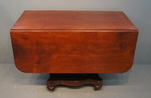 Image Is Loading Antique Empire 1840 039 S Cherry Drop Leaf
