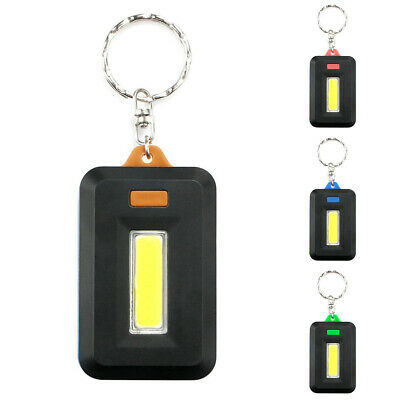 3-Mode Portable Super Mini COB lumière DEL Lampe de poche Porte clés torche Porte-clés