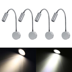 Image Is Loading Wall Mounted Led Reading Light Bed Bedside Lamp