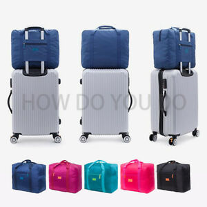 Portable-Waterpoof-Foldable-Travel-Luggage-Baggage-Storage-Carry-On-Duffle-Bag