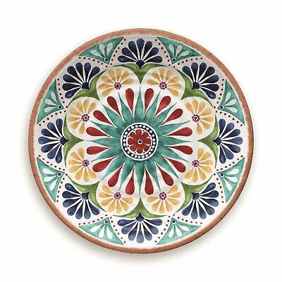 Epicurean Rio Medallion Outdoor/camping/bbq-plastic/melamine Dinner Plates X 1 Goederen Van Hoge Kwaliteit