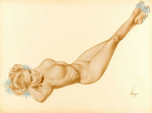 Alberto Vargas Pin Up Girls Giclee Art Paper Print Poster Reproduction