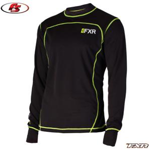 2019 FXR Men/'s VAPOUR 20/% MERINO LONGSLEEVE Snowmobile Base layer Shirt LG  2X