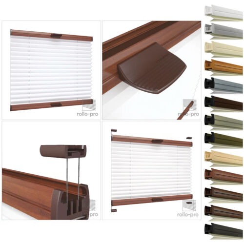 Honeycomb Pleated duoplisse Folding Blind Folding Gates ► Calgary 8 stoffarbe 13 Aluminium Rails