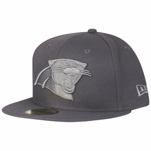New Era 59Fifty Cap GRAPHITE Carolina Panthers