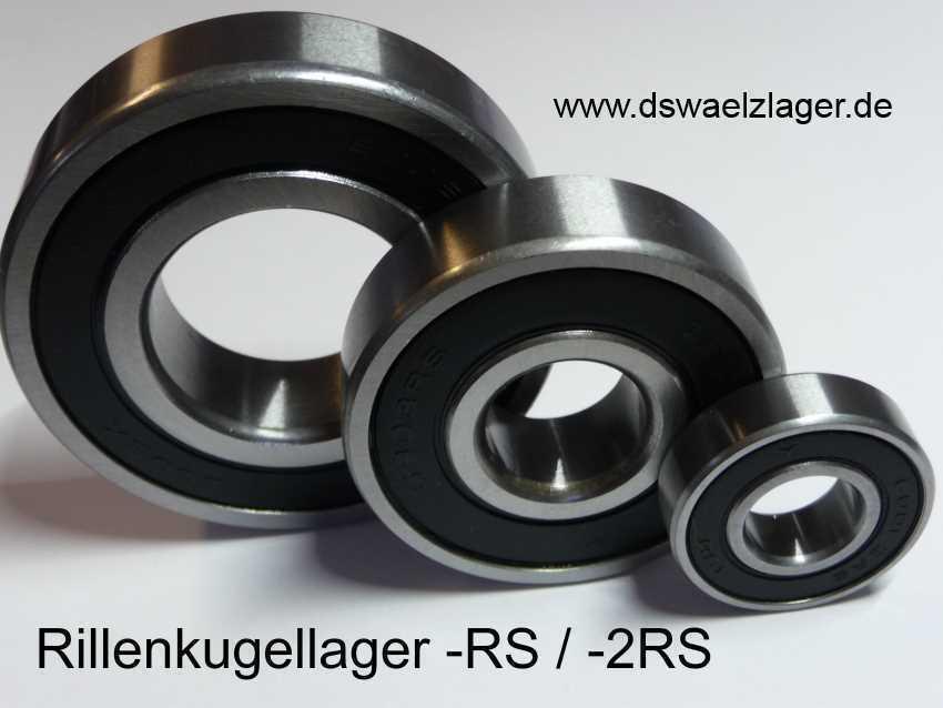1x ABEC7-Kugellager  698-2RS/Ceramic, Si3N4 ..... 8x19x6mm .....  NEU