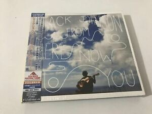 Jack-Johnson-From-Here-To-Now-To-You-UICU-9077-JAPAN-CD-OBI-SEALED-NEW