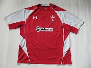 Wales Reebok Herren Rugby Trikot Gr. 2XL Shirt Jersey XXL