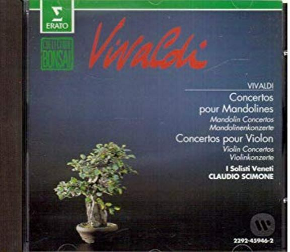 💥 CD✇Audio VIVALDI ✵ Mandolinen- und Violinkonzerte [1980] ISBN: 022924594625