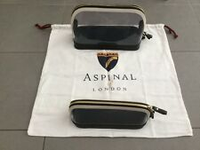 Aspinal of London small and large leather  Hepburn cosmetic cases, RRP $530, new