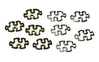 Autism Awareness Puzzle Piece Open Wire Connector Charm For 550 Paracord