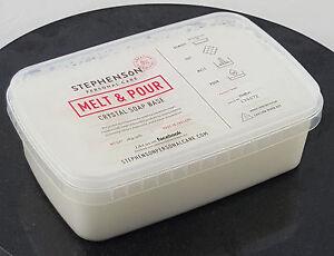 Shea Butter 1kg Melt and Pour Soap Base - SLS Free - Soap Making