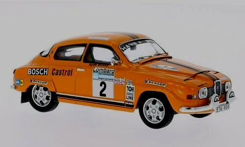 Compra calidad 100% autentica Maravilloso modelCoche Saab 96 V4     2-Segunda rac-rally 1974-Escala 1 43-Ltd.ed.  perfecto