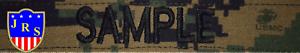 Nametape Namensstreifen USMC MARPAT Mit Ihrem Namen MARPAT Desert