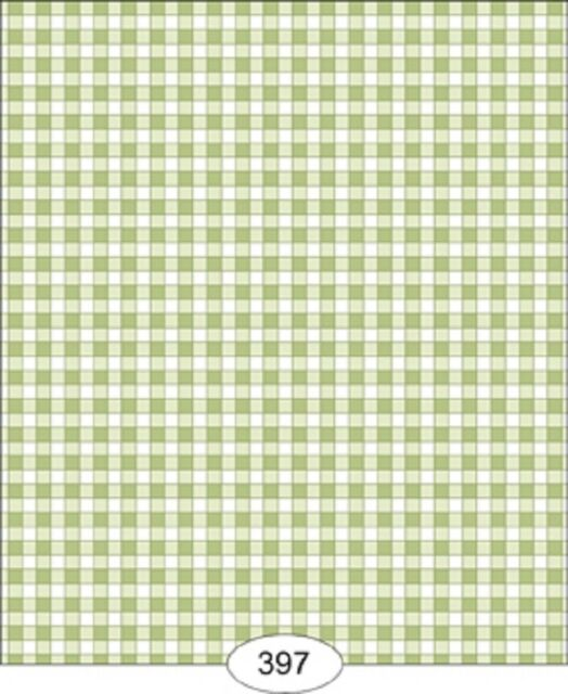 HOBARTH-RED//GREEN-168D2 DOLLHOUSE WALLPAPER