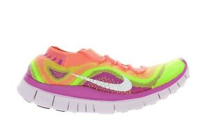 Details about WMNS NIKE FREE FLYKNIT+ 615806 613 ATOMIC PINK ELECTRIC GRN DEADSTOCK BRAND NEW