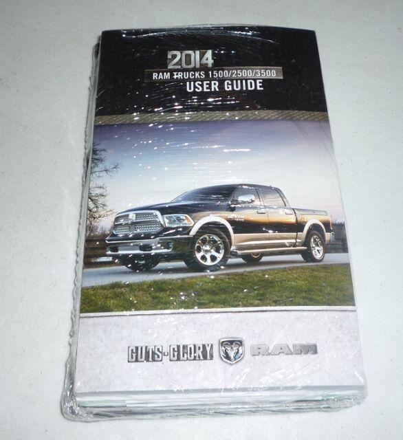 2014 Ram Truck 1500 2500 3500 Owners Manual User Guide W Case For Sale Online Ebay