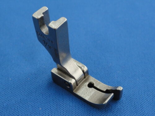 """INDUSTRIAL SEWING MACHINE EDGE FOOT 1//16/"""" RIGHT WORKS ON BROTHER JUKI,"""