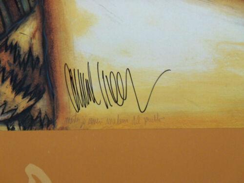 Amado Pena  Pueblo Hand Signed Art Print Rare Poster Provenance Submit Offer