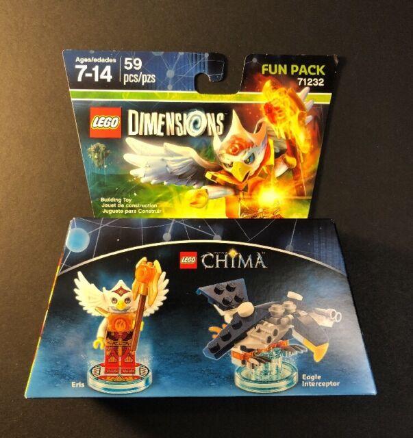 LEGO Dimensions Fun Pack 71232 [ Legend of Chima / Eris ] NEW