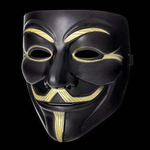 Nuevo 1-10 Fawkes Individuo Anonymous Máscaras Hacker Disfraz de Halloween GB