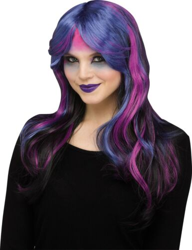 Adult Fantasy Unicorn Costume Wig Pastel or Dark
