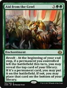 Aid From the Cowl x4 MTG Aether Revolt - Mint