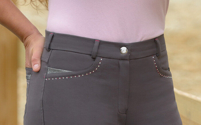 SHIRES  EQUESTRIAN BLOOMBURY PERFORMANCE WOMENS BREECHES SIZE 24US (BRAND NEW)  all goods are specials